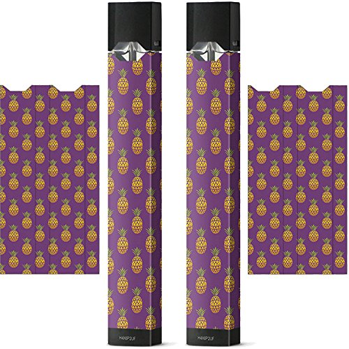 2 Pack - Juul Vinyl Wrap | Juul Decal | Juul Skin | Juul Sticker (Pineapple)