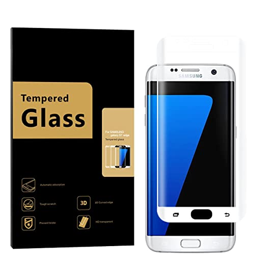 11 opinioni per Samsung Galaxy S7 Edge Pellicola Protettiva, URNICE 3D Full Coverage 9H Durezza