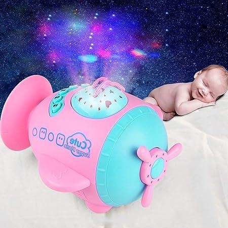xMxDESiZ Avión Infantil Bebé Educativo Aprendizaje LED Luz Star ...