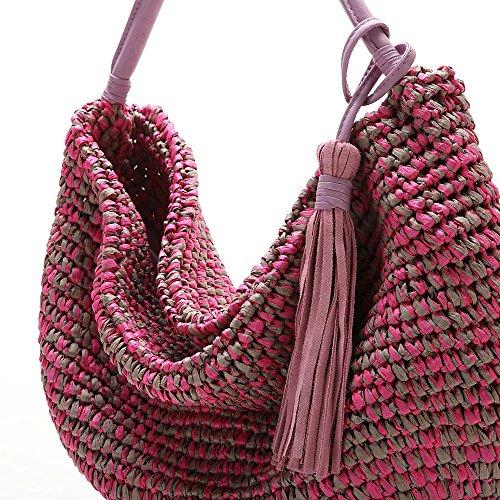 ABBACINO SS16 Trendy Nova/Pale Pink, Borsa A Spalla Donna, Rosa (Pale Pink), Taglia Unica