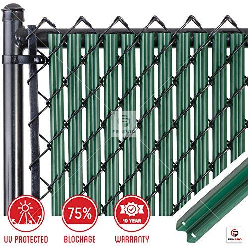 Chain-Link W Shape Bottom Lock Fence Slats (5-ft, ()