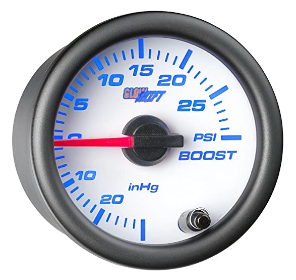 61RkHrFAFUL._SX587_ amazon com glowshift white 7 color 30 psi boost vacuum gauge  at couponss.co