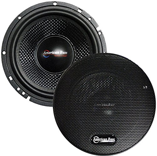 "American Bass Usa VFL 65MB 350W Mid Range 6.5"" Speaker"