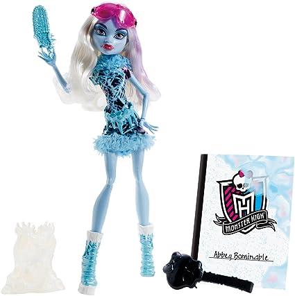 Monster High - Muñeca, Clase de Arte, Abbey (Mattel BDF13): Amazon.es: Juguetes y juegos