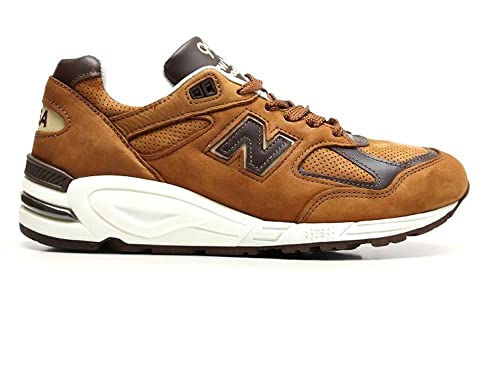 New Zapatillas Balance Piel Marrón Color Para Hombre De Marrón 5r4qA5