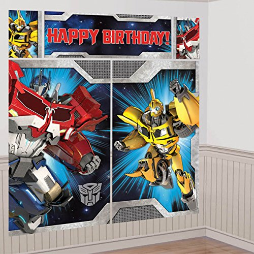 Amscan Transformers Scene Setter Wall Decorating Kit (Each)]()