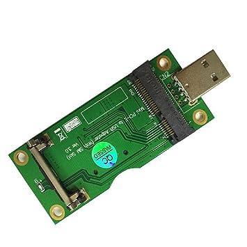 Adaptador Mini PCI-E a USB con Ranura para Tarjeta SIM para ...