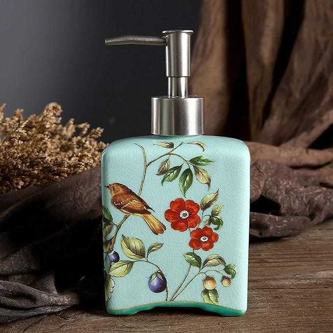 FJNS Dispensador de jabón,Dispensador de JabóN, líquido ...
