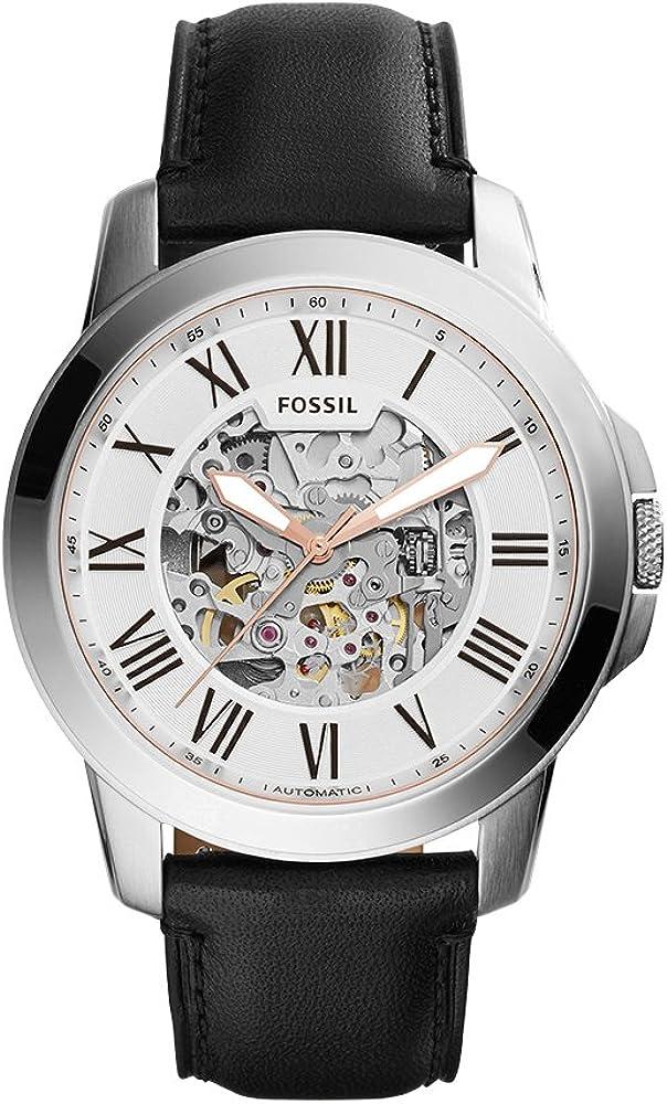 Fossil Grant Reloj mecánico automático de acero inoxidable para hombre