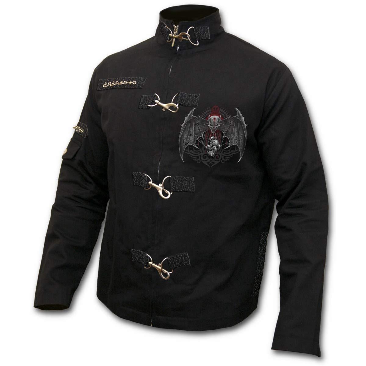77b21af98 Spiral Mens - Demon Tribe - Orient Goth Jacket Black at Amazon Men's ...