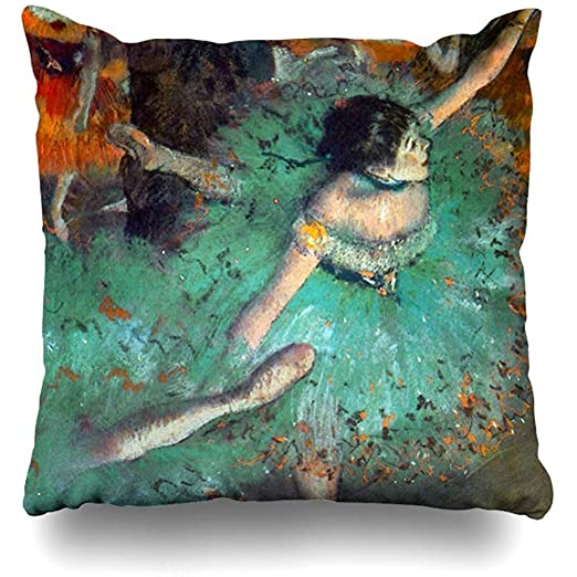 LOVE GIRL Fundas de cojín Edgar Degas The Green Dancers ...