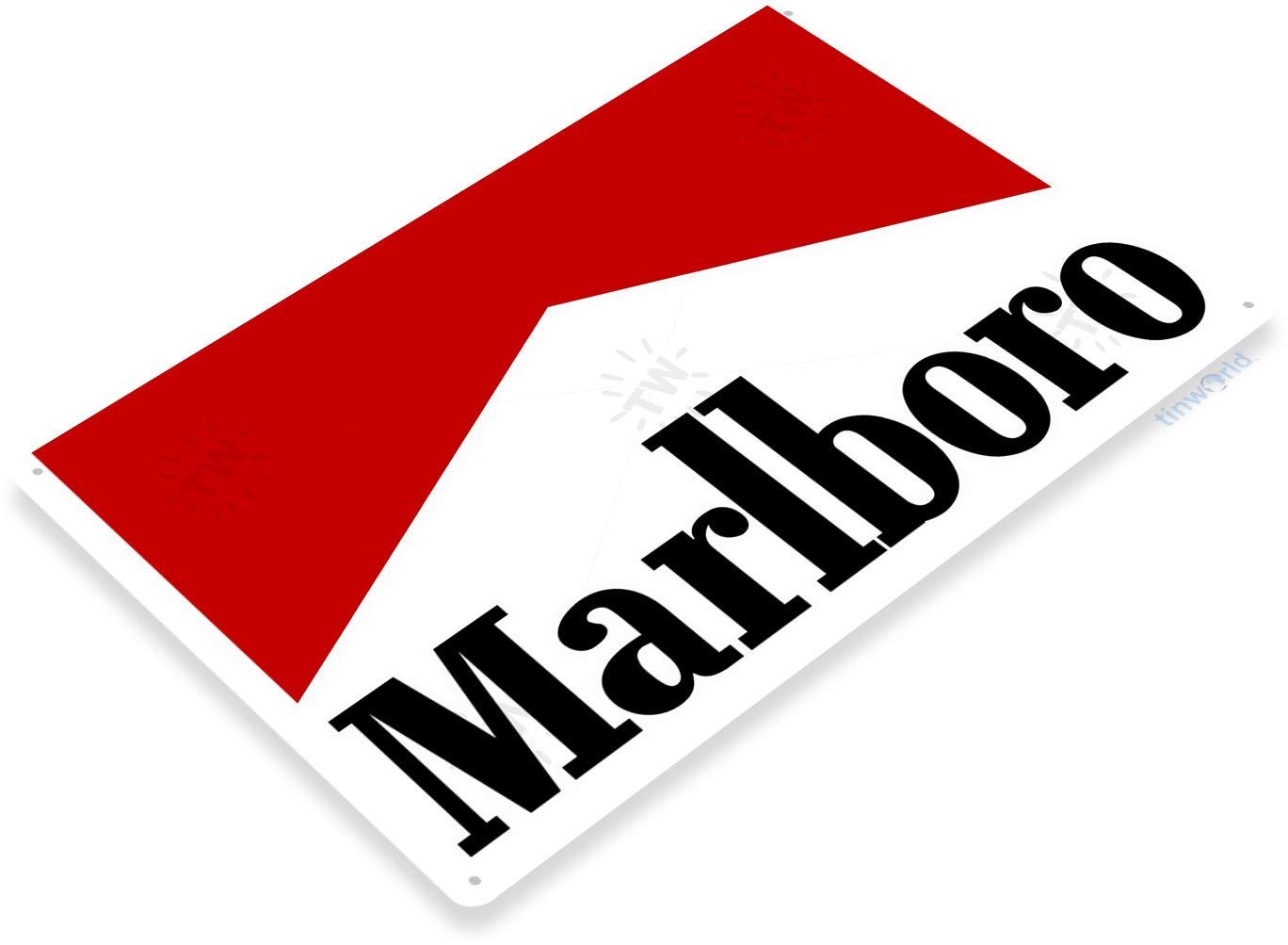 Amazon com: Tinworld Tin Sign Marlboro Cigarettes Cigar