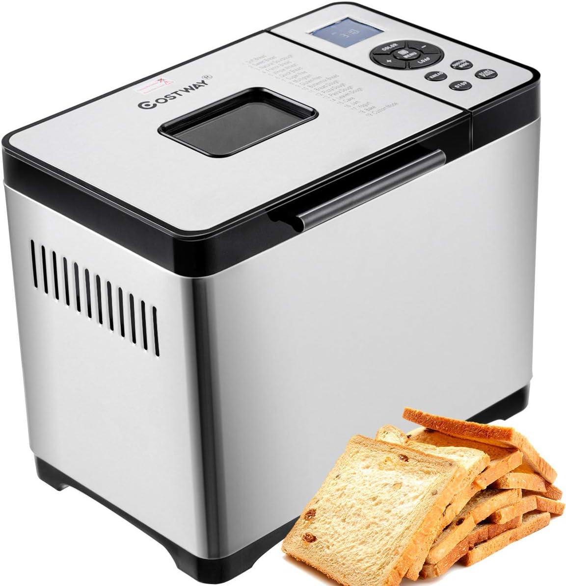 Amazon.com: Máquina de pan automática de acero inoxidable ...
