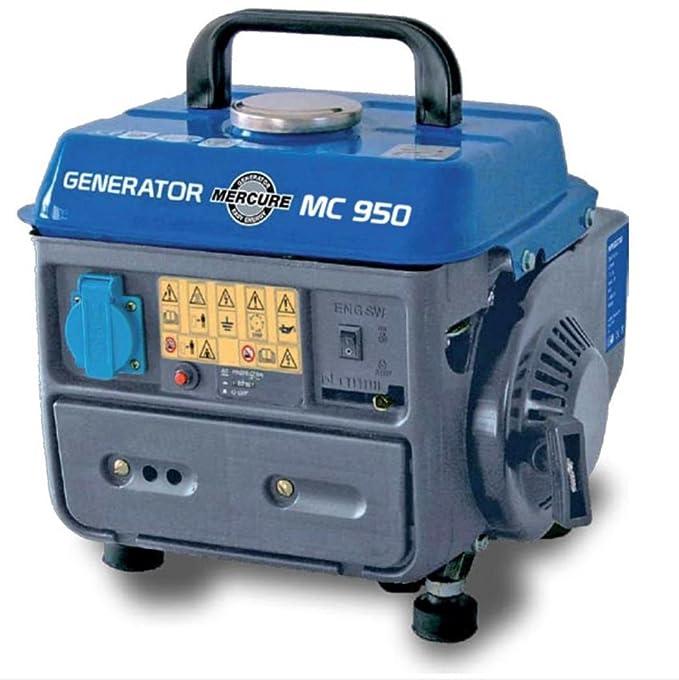 Mecafer 450009 - Grupo electrógeno (2 tiempos, 780 W): Amazon.es: Bricolaje y herramientas