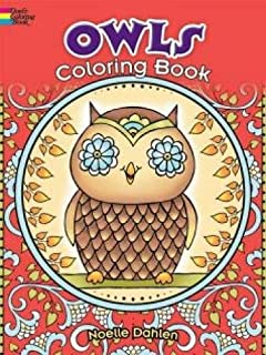 Owls Coloring Book Dover Books