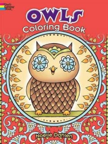 Owls Coloring Book (Dover Coloring - Guy Single Cards Christmas