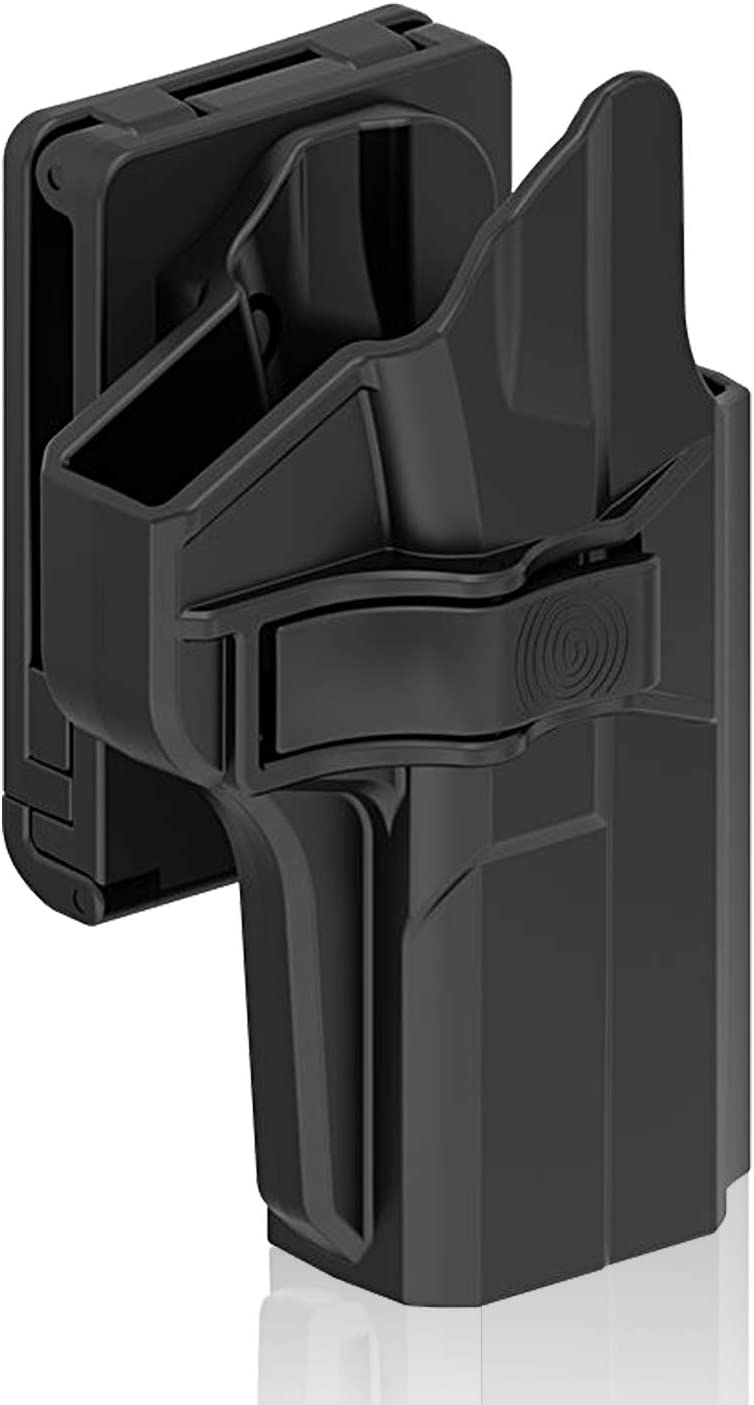 efluky 9mm Holster Pistola Molle Pistolera Airsoft Gun Holster para S&W M&P 9mm (Smith & Wesson Military & Police)