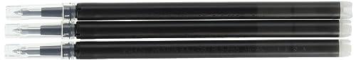 パイロットフリクションインキボールペン替芯3本セット0.5mm黒LFBKRF30EF3B