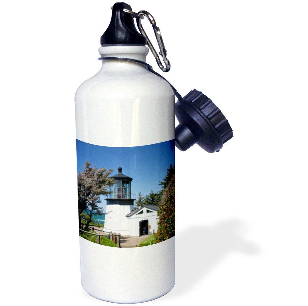 21 oz Cape Meares lighthouse White USA-US38 JWI0444-Jamie and Judy Wild Sports Water Bottle USA-US38 JWI0444-Jamie and Judy Wild Sports Water Bottle 3dRose wb/_145717/_1Lookout Oregon