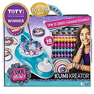 Cool Maker, KumiKreator Friendship Bracelet Maker, Makes Up to 10 Bracelets, for Ages 8 and Up