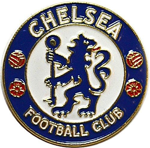 New Official Football Team Pin Badge (Chelsea FC) (Badge Football Chelsea)