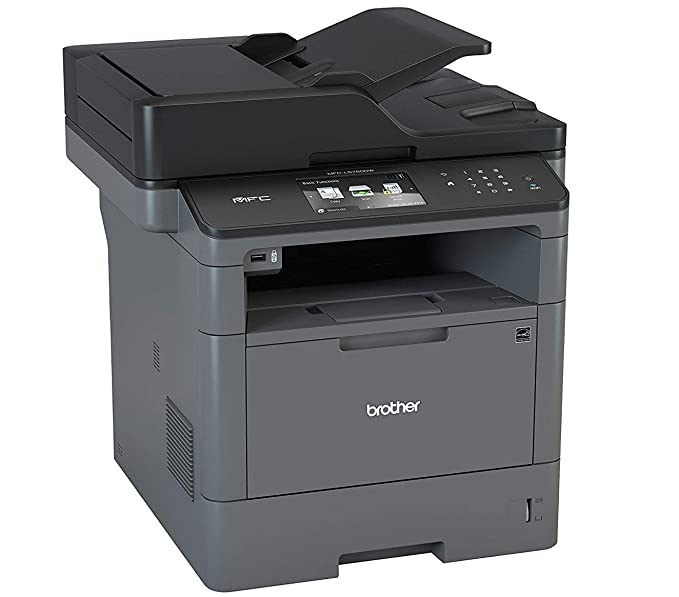 Brother MFC-L5750DW - Impresora multifunción láser monocromo (250 hojas, 40 ppm, USB 2.0, doble cara automática, Ethernet, Wifi) + Brother TN3430 - ...