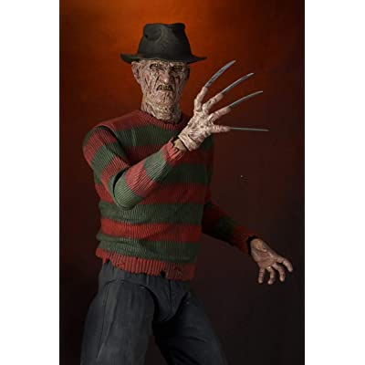 NECA Nightmare on Elm Street 2 Freddy 1/4 Scale Action Figure: Toys & Games