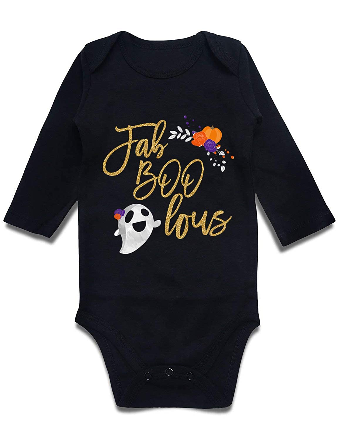 Cutemefy Newborn Infant Baby Boys Girls Romper Bodysuit Short Sleeve Outfit Jumpsuit (Size 0-18 Months) CQJTZCH56IUPO