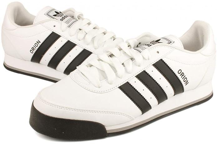 ed6c07c68a0 Adidas Orion 2 White Black Mens Trainers Size 9 UK  Amazon.co.uk  Shoes    Bags