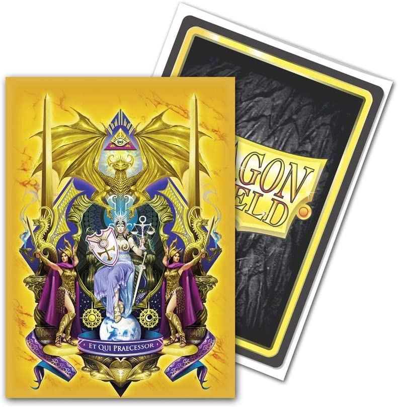 Dragon Shield Classic Art Coat of Arms Queen Athromark Standard Size 100 ct Card Sleeves Individual Pack