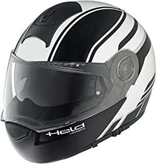 Held By Schuberth 7856-00_14_M H-C3 Trip Casco, Negro/Blanco,
