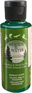 product image for Badger Air-Brush Co. 4-Ounce Woods and Water Airbrush Ready Water Based Acrylic Paint, Dark Green