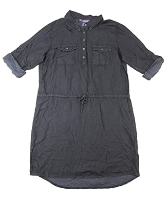5eb9ec95551 Amazon.com  Gloria Vanderbilt Women s Denim Ashleigh Dress  Clothing