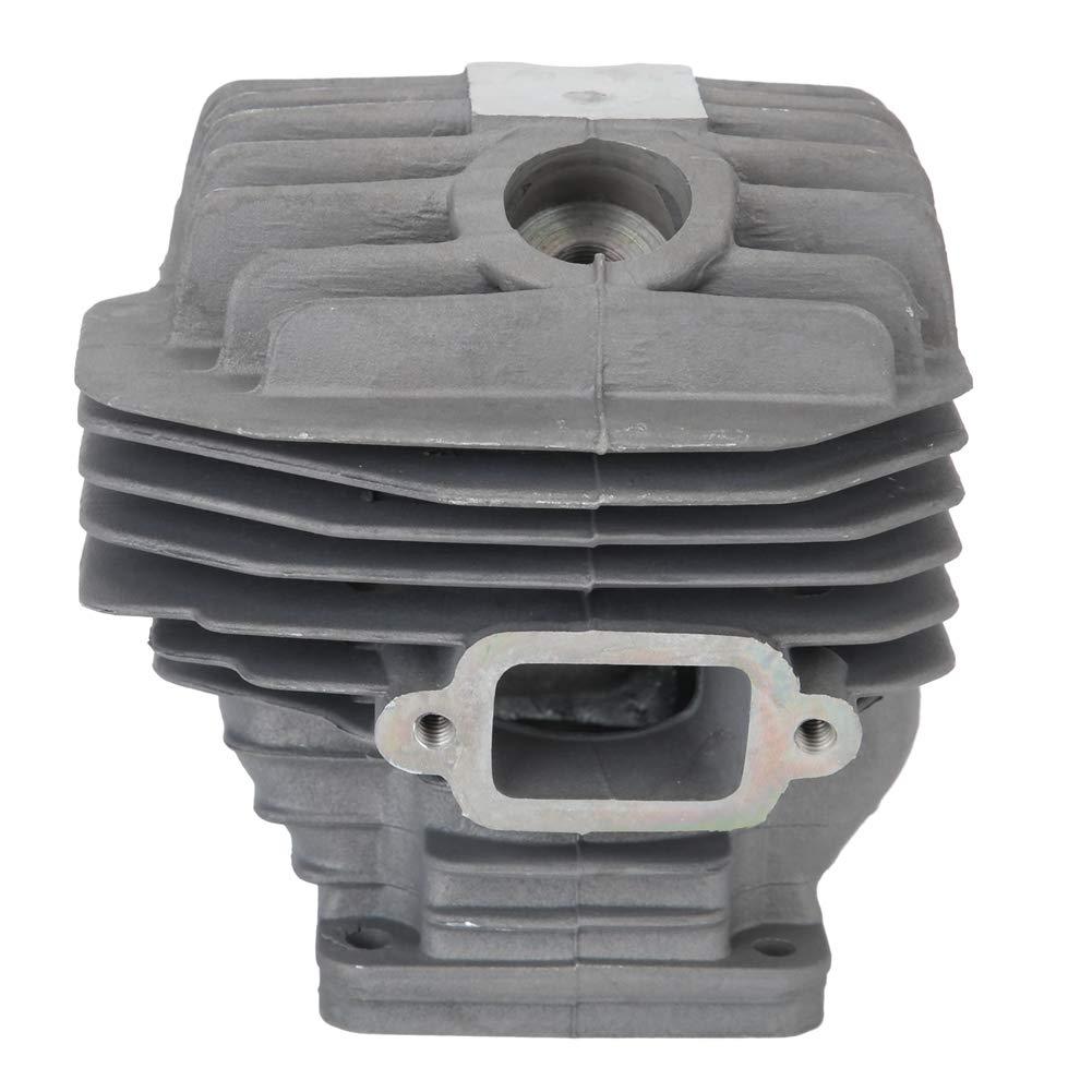 Kit de pist/ón de cilindro de 50 mm con pist/ón accesorios para recortadora de cortac/ésped aptos para Stihl MS440 044