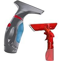 Vileda 161331 WindoMatic Powerset - Ruitenreiniger + Spray - Autonomie van 40 minuten, met spray, Zwart, blauw