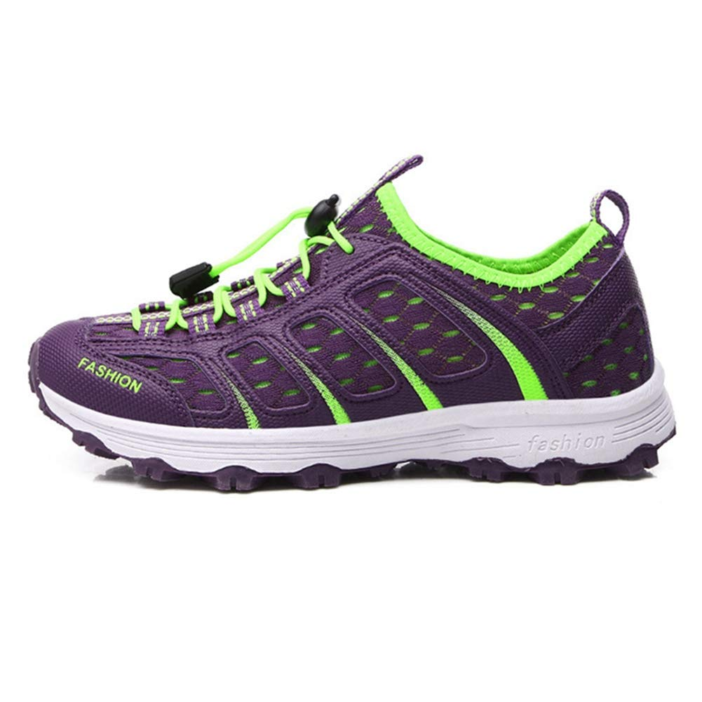 Laufende Schuhe der Frauen Mesh Walking Wanderer Rutschfeste Atmungsaktive Stoßdämpfung Hiking Trekking