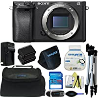 Sony Alpha a6300 Mirrorless Digital Camera (Body Only) + Pixi-Basic Accessory Bundle - International Version Overview Review Image