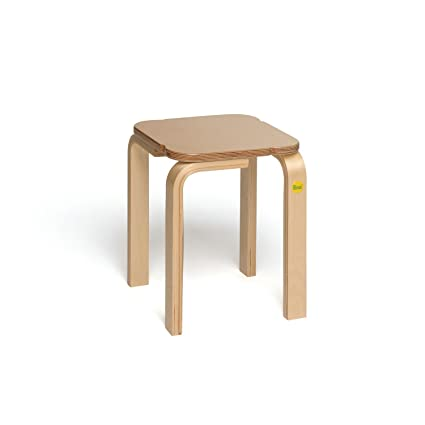 Marvelous Amazon Com Erzi Erzi50033 Molded Wood Stool Toy 35 Cm Machost Co Dining Chair Design Ideas Machostcouk