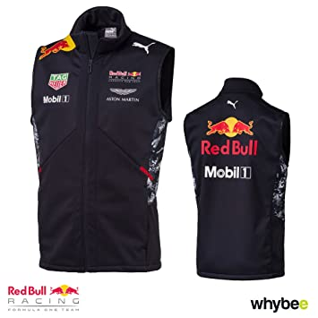 cee75292b64 2017 Red Bull Racing Formula One Team Gilet Official Puma F1 Merchandise   Amazon.co.uk  Sports   Outdoors