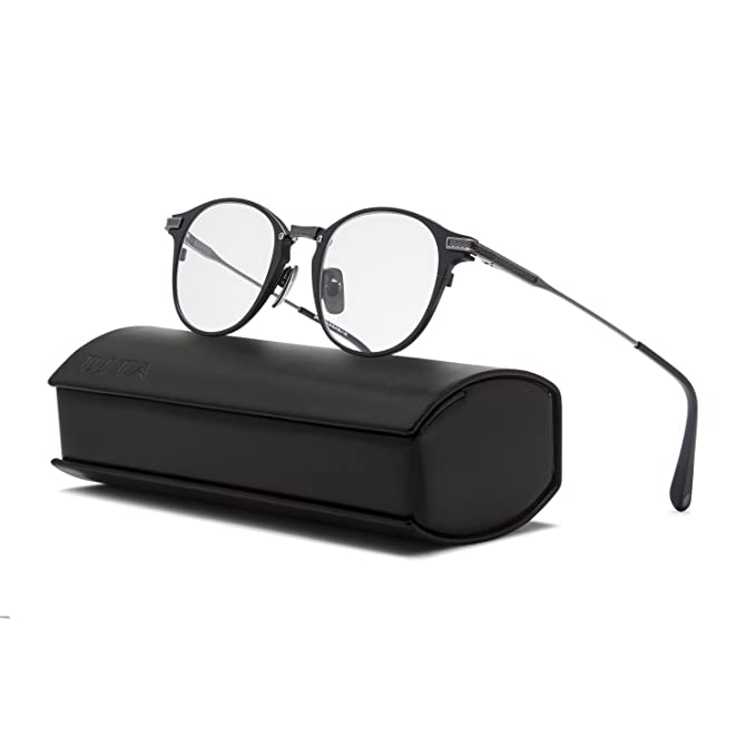 85af6e2ee0d Dita United Eyeglasses DRX 2078B Matte Black Antique Silver Frame   RX Demo  Lens  Dita  Amazon.ca  Clothing   Accessories