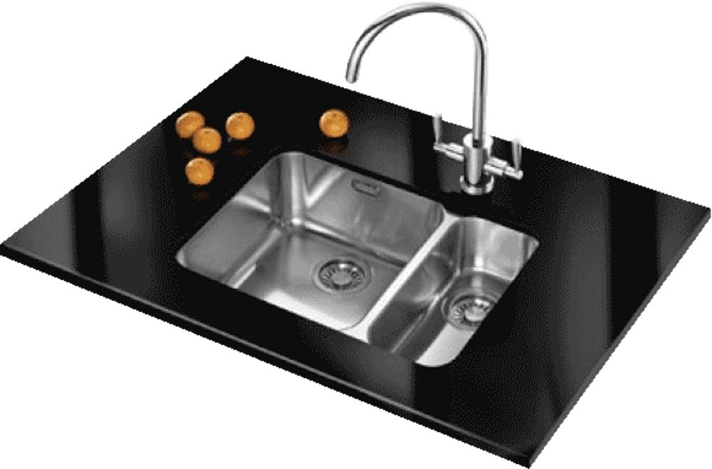 Franke Largo LAX160 36-16 Right Hand RH Small Bowl 1.5 Stainless ...