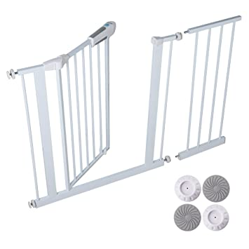 Amazon Com Sable Baby Safety Gate Pressure Mounted Easy Step Walk
