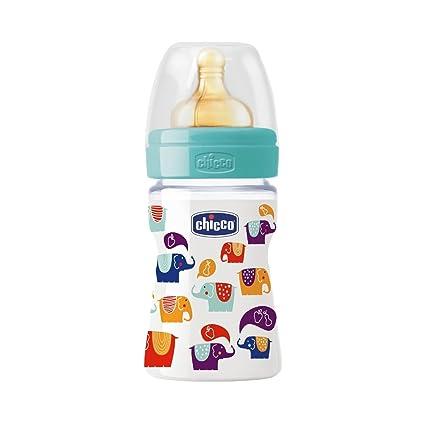 Botella de bebé Biberon Bottiglia En Plastica tettarella En Caucciu 1 Foro Irónico Linea Benessere