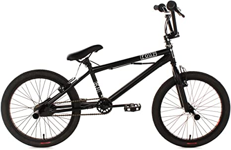 KS Cycling Four BMX 519B - Bicicleta de freestyle, color negro ...