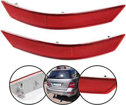 Rear Bumper Left Reflector Light for Mercedes-Benz W164 ML320 ML350 ML550