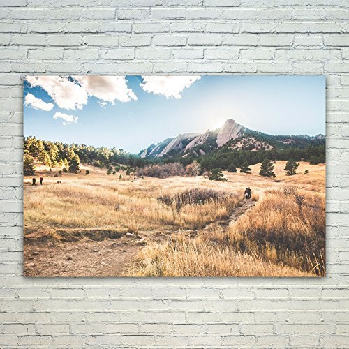 (Westlake Art Poster Print Wall Art - Boulder Wilderness - Modern Picture Photography Home Decor Office Birthday Gift - Unframed - 8x12in)