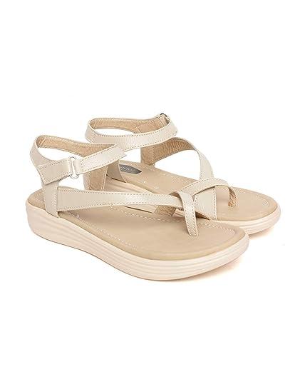 bff72f7a6d815 BELLA TOES Women s Ladies Female s Girl Synthetic Leather Casual Regular  Sandal Wedges Fashion Sandals Fancy WEAR Party WEAR Casual  Footwear (FL-72)  Buy ...