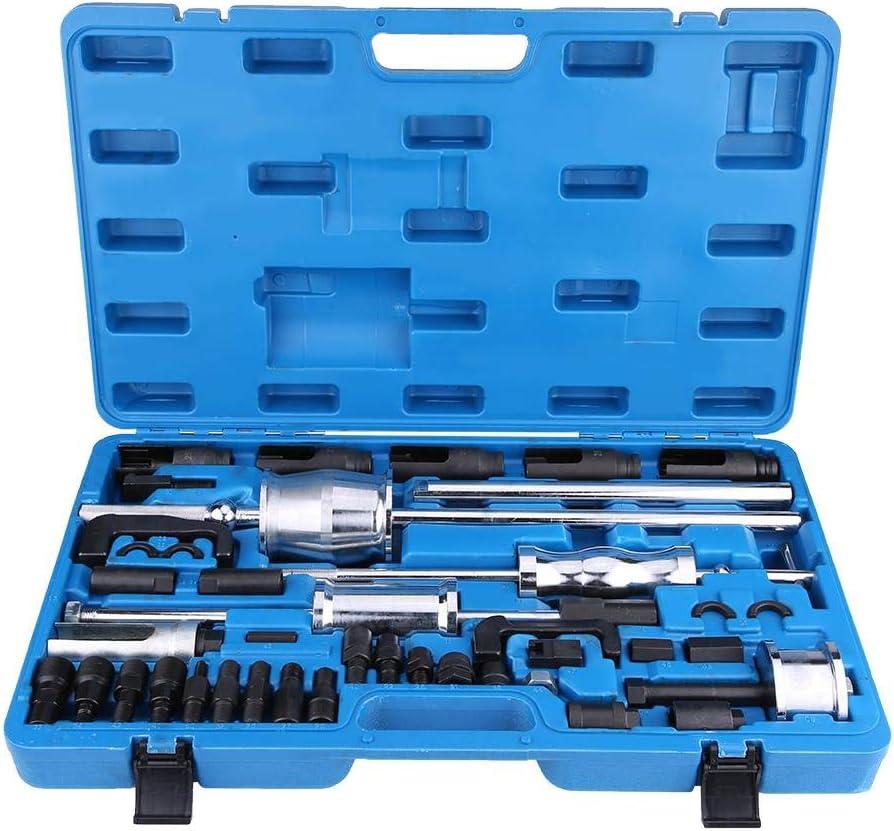 40 Piezas Greensen Caja de Herramientas para Extractor de inyectores