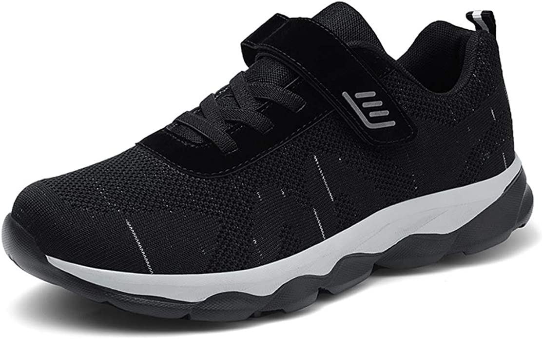 Womens Casual Middle-Aged Safety Walking Sneakers Light Weight Comfort Shoes