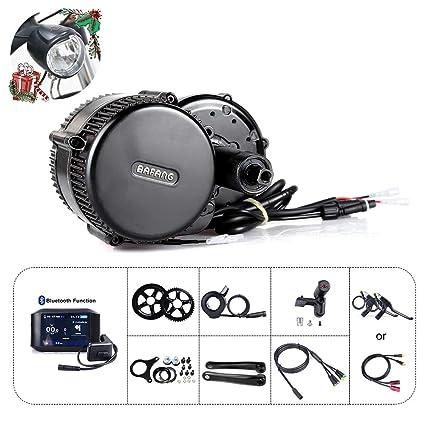 Bafang BBS01B 36V 250W / 350W Juego de conversión de Bicicleta eléctrica BBS02B 36V 500W Juego de conversión de Bicicleta eléctrica con batería y ...